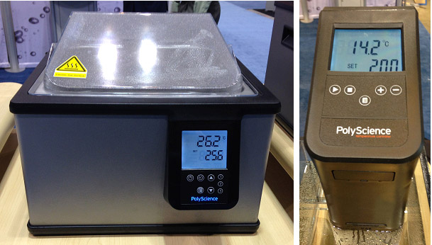 our redesigned premium digital water bath right and new lx immersion circulator - Immersion Circulator